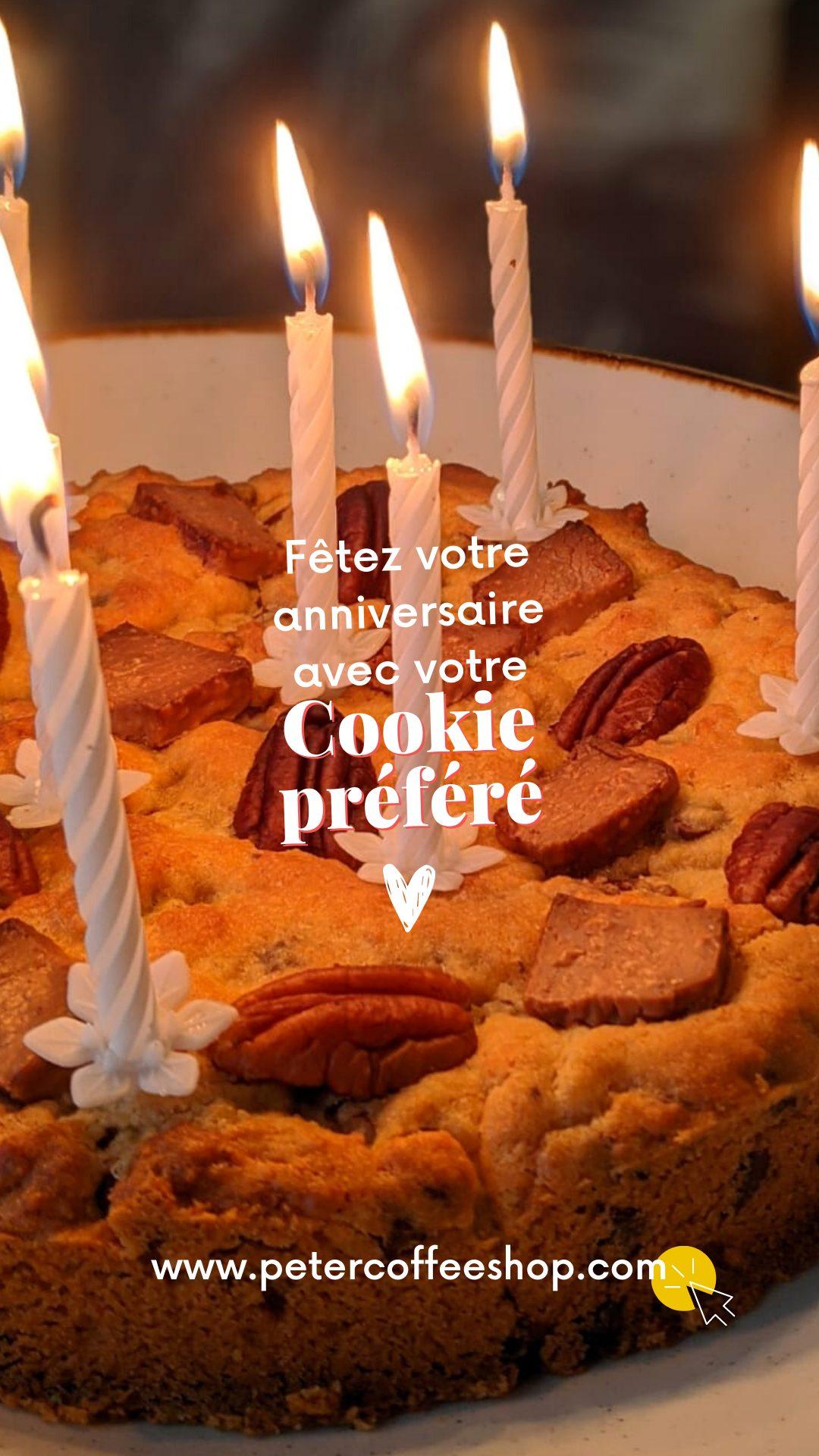 Cookies géants pour un évènement réussi sur Bordeaux